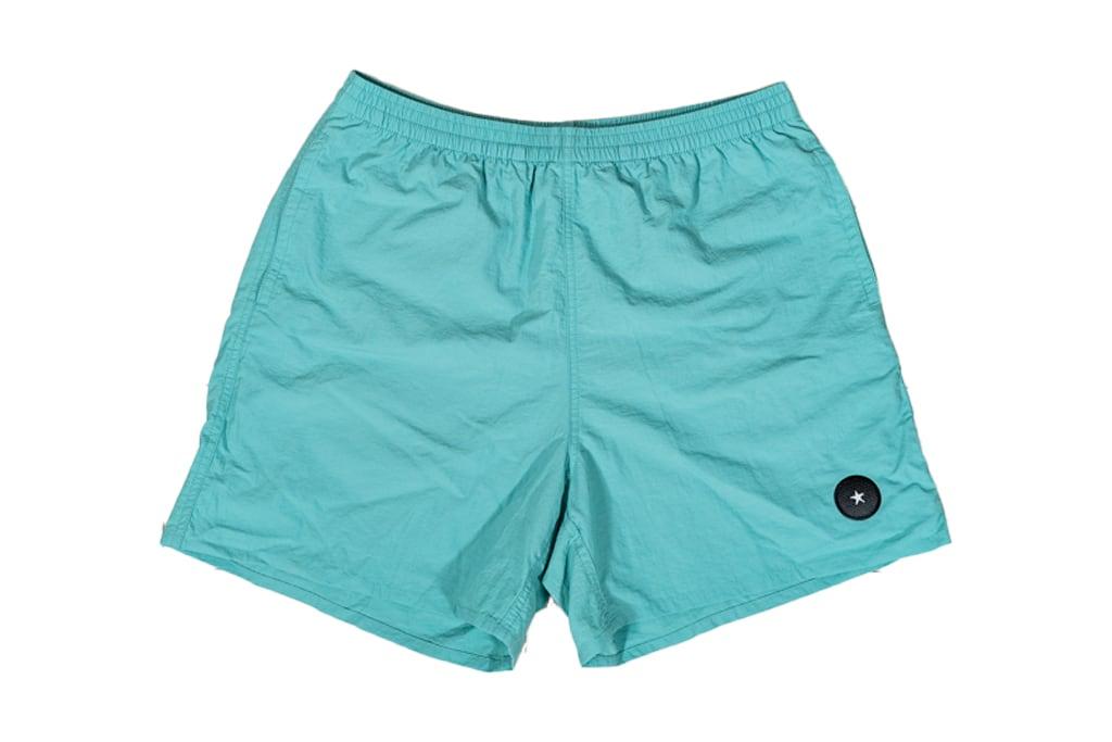 【Taslan nylon shorts】/ ocean green