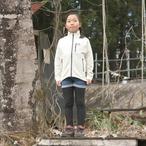 Kids 130 / UN3000 Mid weight fleece Jacket / Cream