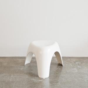 USED 柳宗理デザイン Habitat ハビタ社 エレファントスツール ホワイト 001