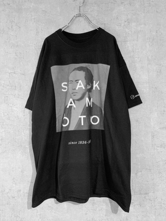 Connecter Tokyo sakamoto ryoma tee  black
