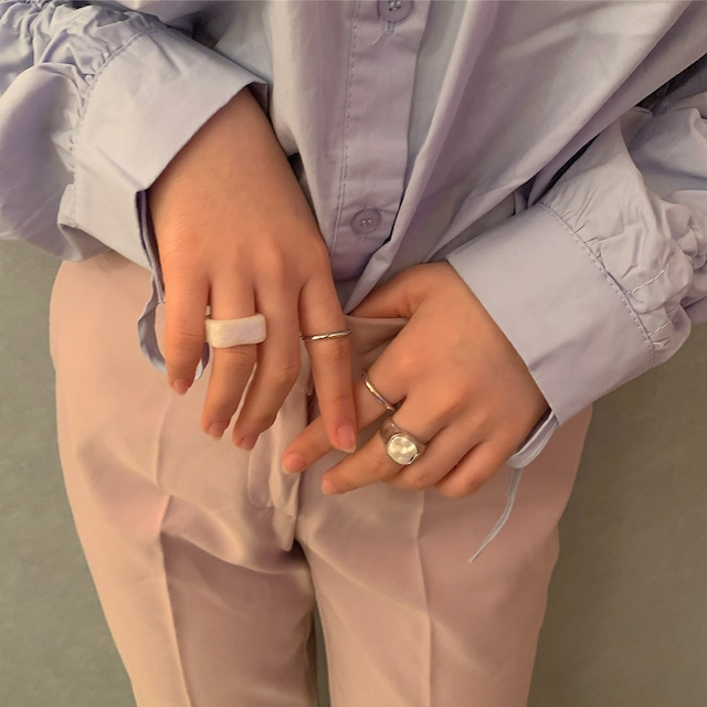clear ring set