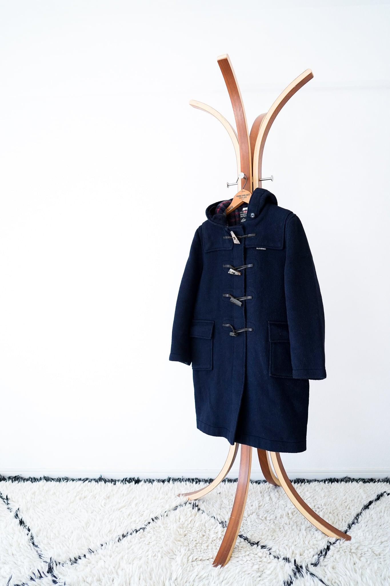 "【1970s】""Gloverall"" Wool Duffle Coat / v447"