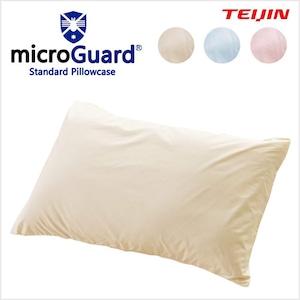 TEIJIN(帝人) ミクロガード スタンダード 枕カバー サイズ/(約)45×65cm