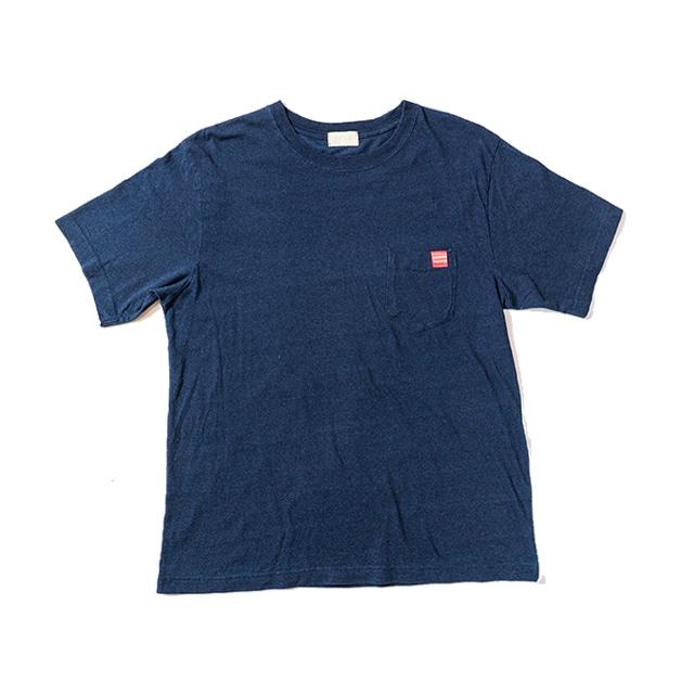 5.3オンス インディゴT-Shirt - BACKWAVE
