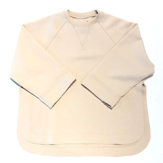 【21AW】GRIS ( グリ )Side Slit Pullover[XL]Ecru スウェット ニット