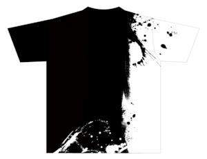 Tシャツ★墨絵ハシビロコウ【ブラック×ホワイト】