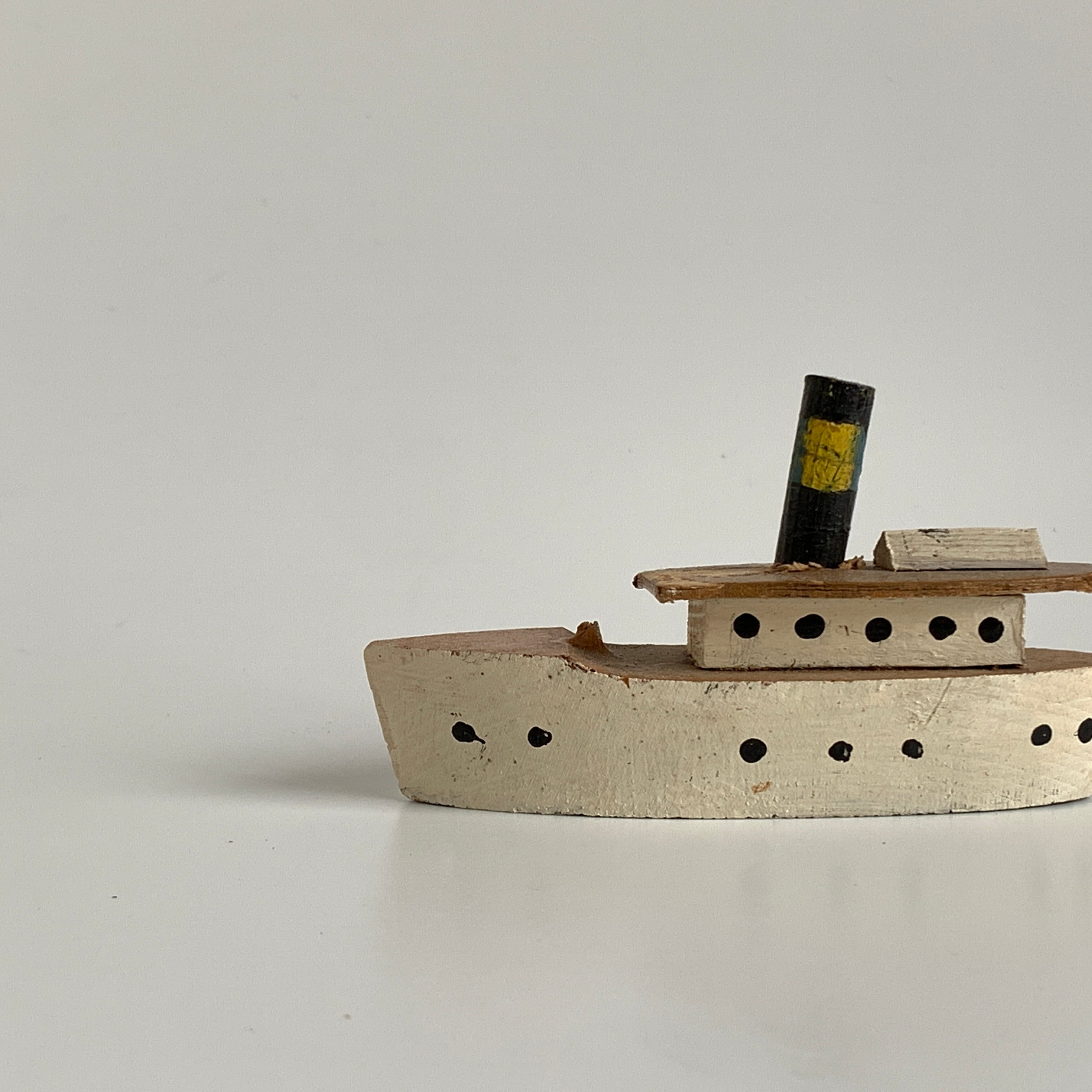 Wooden Small Ship
