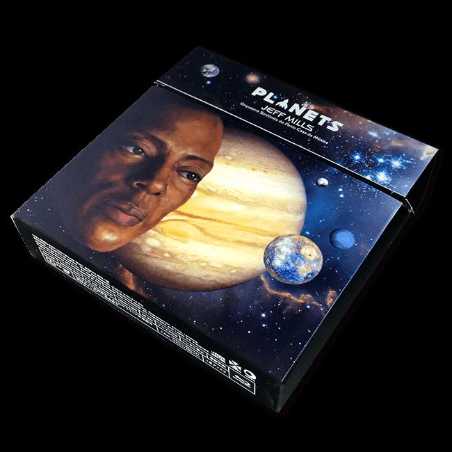 ジェフ・ミルズ&ポルト・カサダムジカ交響楽団 - Planets(初回生産限定盤[Blu-ray+CD]) - 画像2