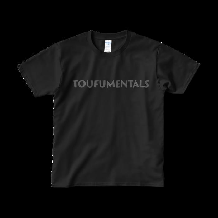 とうふめんたるずTシャツ(TOUFUMENTALS・黒)