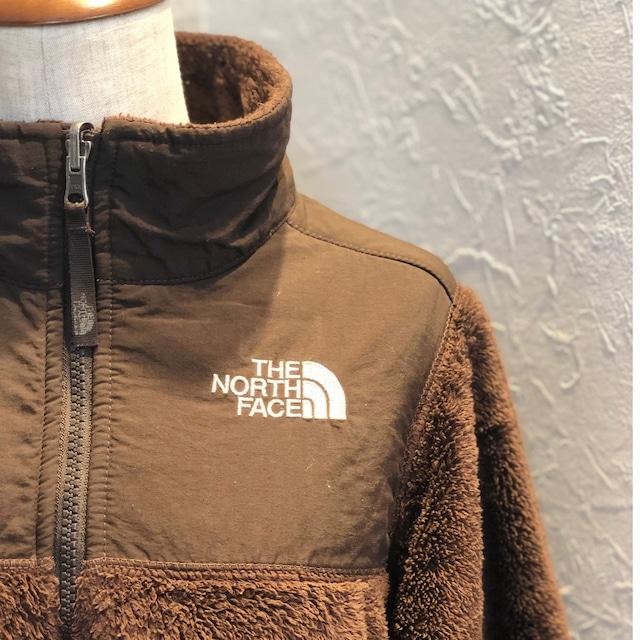 TNF kids size brown boa  fleece