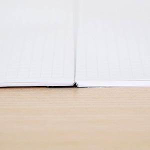 【水平開きノート】くまモン 冬