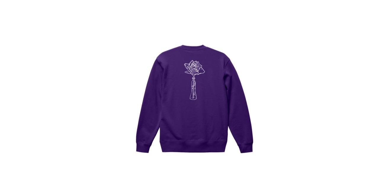 coguchi rose sweat (PUR)