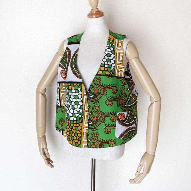 カンガのベスト|アフリカ布 服 / カンガ服