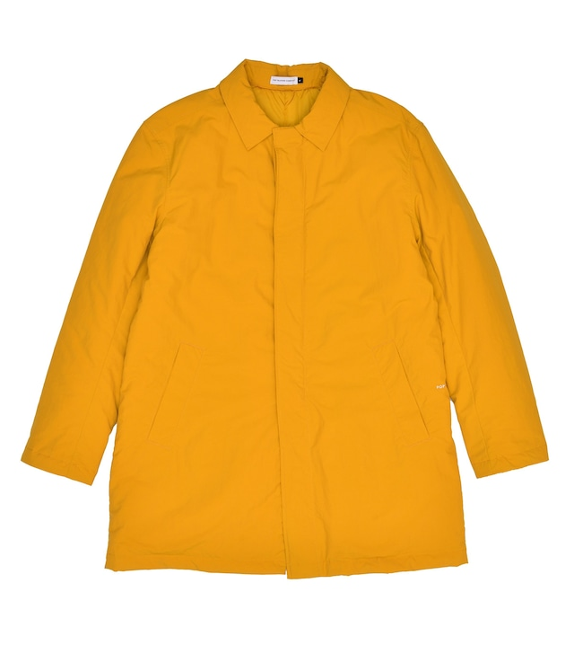 POP TRADING COMPANY PADDED TRENCH COAT SPRUCE YELLOW