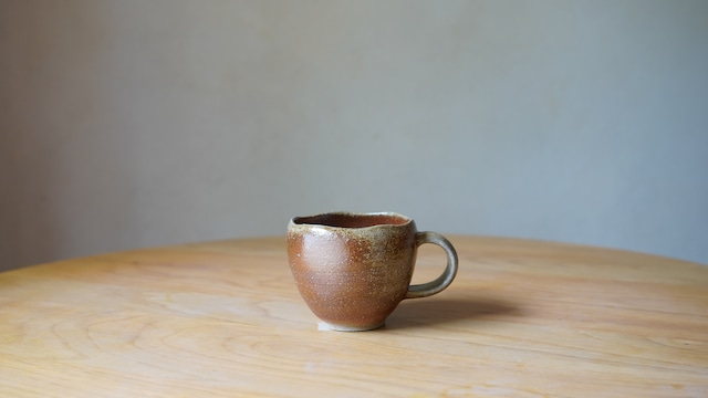 天野智也「備前  マグカップ」(wa-7)